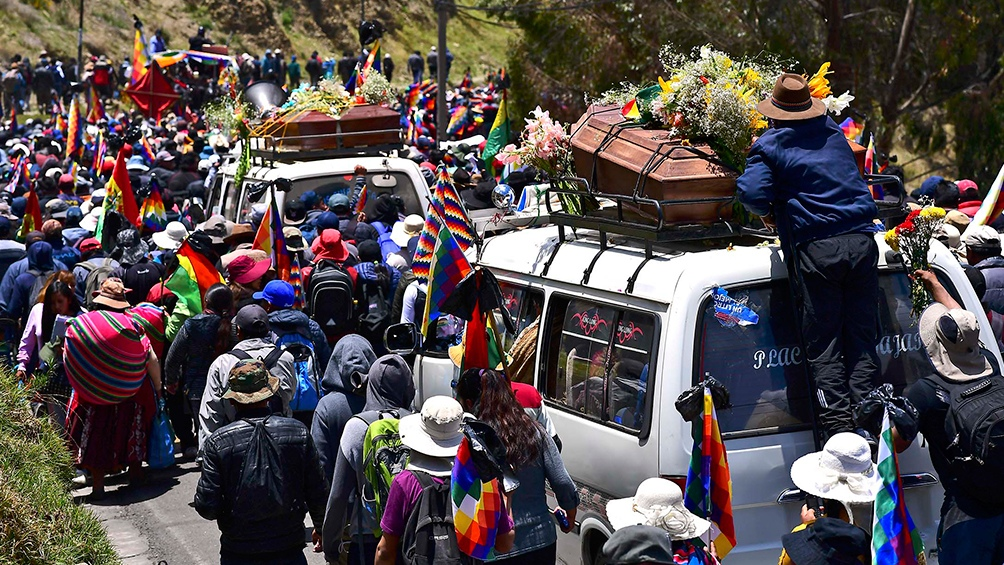 La ferocidad represiva de los golpistas bolivianos contó con el respaldo de los gobiernos de Macri y Bolsonaro.