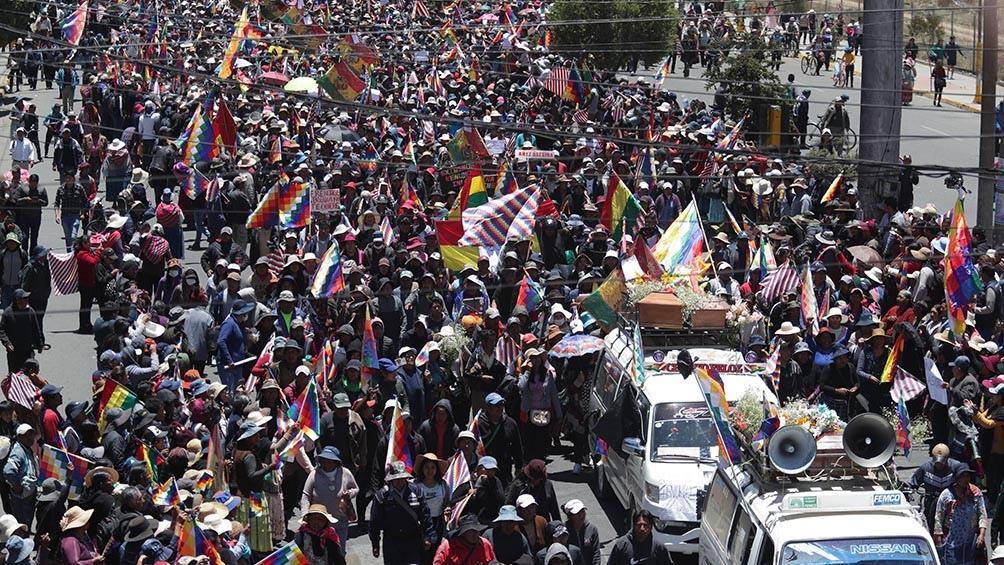 Masacres y graves violaciones a los derechos humanos se desataron en el golpe en Bolivia.