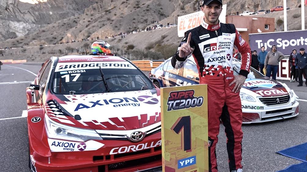 Matias Rossi se quedó con el título y Agustín Canapino con la carrera