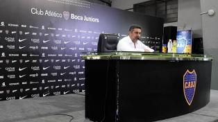 "Angelici, sobre Riquelme: ""Tiene su forma de ser, la respeto pero no la comparto"""