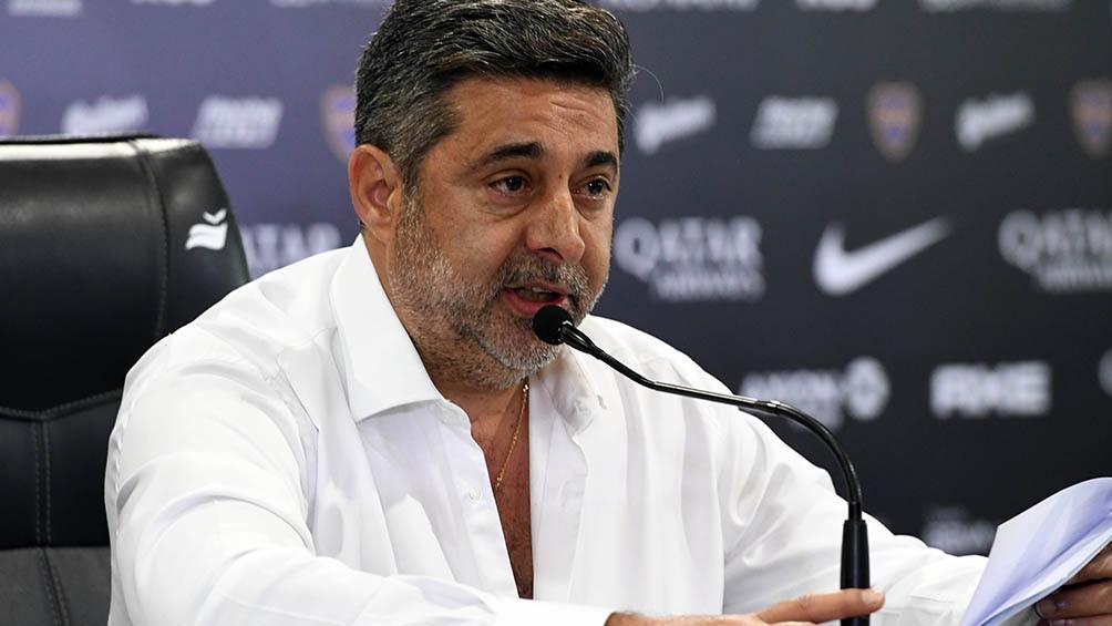 El expresidente de Boca Juniors, Daniel Angelici volvió a referirse a la relación de Carlos Tevez con la Secretaría de fútbol de Boca
