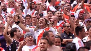 Los hinchas de River aplaudieron al equipo a pesar de la derrota