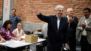 """""""El desafío del próximo gobierno es mantener los equilibrios"""", afirmó Tabaré Vázquez"""