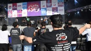 Charly García, Divididos y Las Pelotas, en el Cosquín Rock