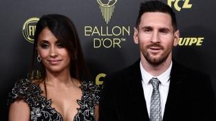 Messi llegó a Rosario para pasar las fiestas de fin de año con su familia