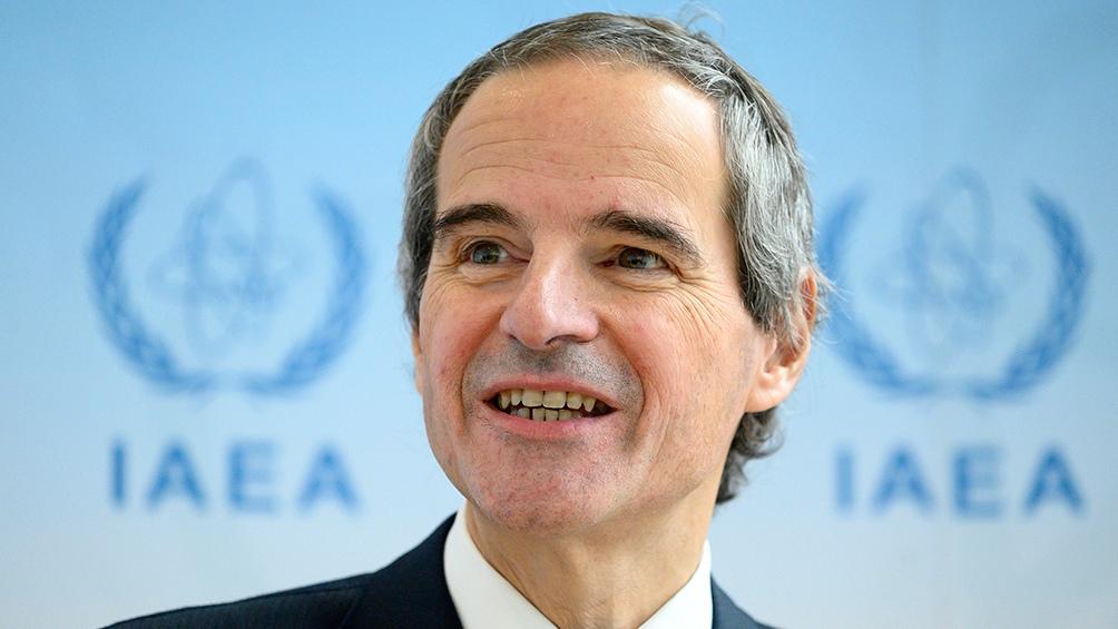 El argentino rafael Grossi es el titular del Organismo Internacional de la Energía Atómica.