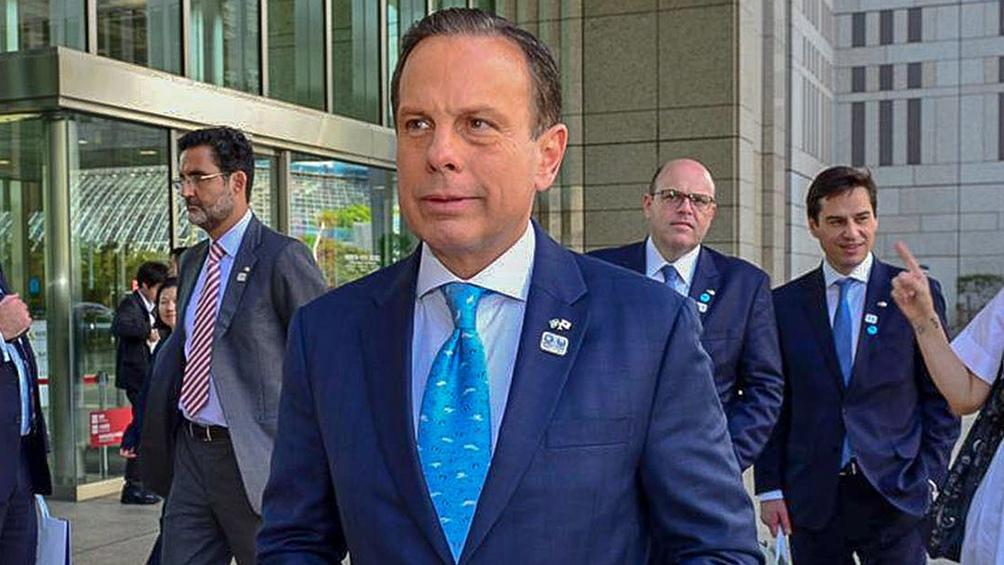Joao Doria, el gobernador de San Pablo habilitará el fútbol