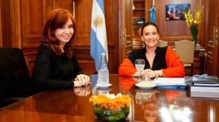 Gabriela Michetti y Cristina Fernández acordaron respetar el protocolo para la jura presidencial