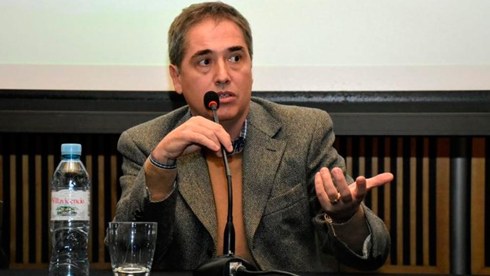 """Lorenzino aseguró que """"los medios necesitan construir un imaginario de tomas masivas que no tiene nada que ver con la realidad"""""""