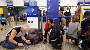 Dictaron conciliación obligatoria en conflicto de Latam y se reanudaron vuelos