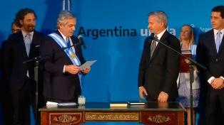"""Solá a los diplomáticos: """"Hay que estar a la altura de lo que se vive en la Argentina"""""""