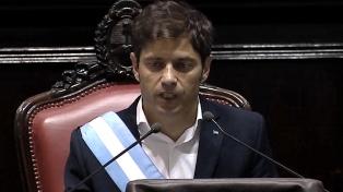 Kicillof envió el proyecto de ley impositiva 2020 a la Legislatura