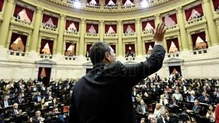 La Cámara de Diputados convirtió en ley el proyecto de Consenso Fiscal