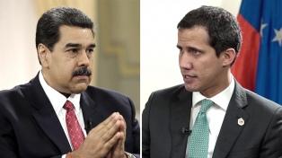 Maduro y Guaidó agitan la batalla dialéctica