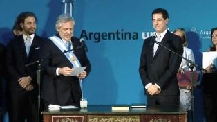 Fernández y De Pedro reciben a los gobernadores radicales Morales, Suárez y Valdés