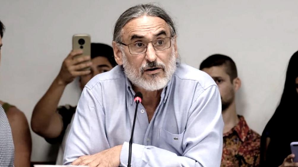 Luis Basterra Ministro de Agricultura Ganadería y Pesca