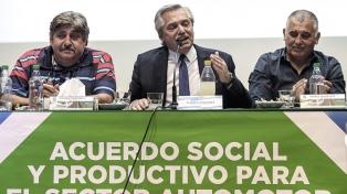 """Fernández: """"Todos tenemos que hacer un aporte y todos tenemos que ceder algo"""""""