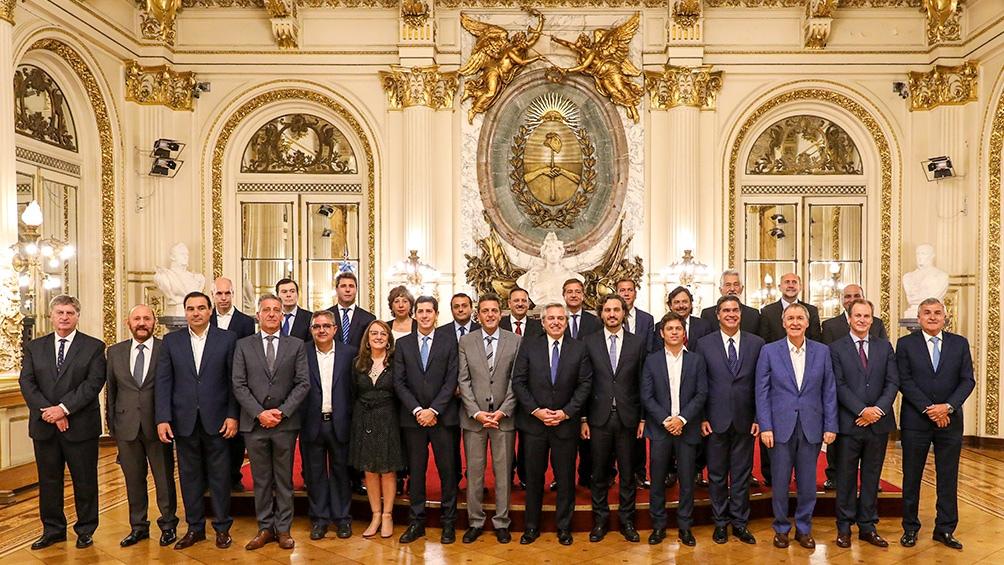 Los gobernadores expresaron su satisfacción por el acuerdo al que arribó el Gobierno con los bonistas extranjeros.