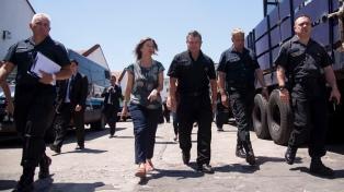 Frederic presenció un simulacro de secuestro en el cuerpo de la Policía Montada