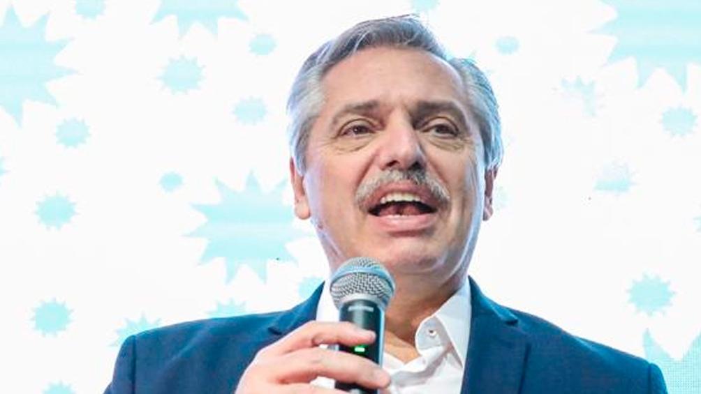 El Presidente participó, en forma virtual, de un acto organizado por el consejo nacional del Partido Justicialista (PJ).
