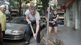"""El Gobierno plantó 454 árboles para """"homenajear"""" a los recién nacidos"""