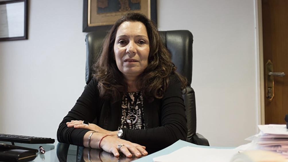 Cristina Caamaño hizo su primer informe de gestión