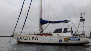 Inició su regreso desde la Antártida el velero liderado por un ex combatiente de Malvinas