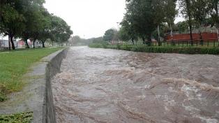 Mejora la situación luego del temporal y permanecen evacuadas unas 80 personas