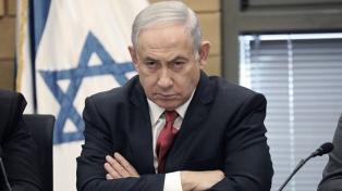 "Netanyahu: el plan para anexar parte de Cisjordania sigue en pie, pero ""está en Washington"""