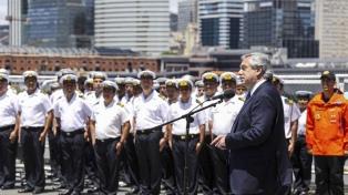 Alberto Fernández destacó el trabajo de las Fuerzas Armadas en la Antártida