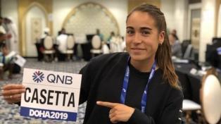 Una atleta argentina se preparará en África
