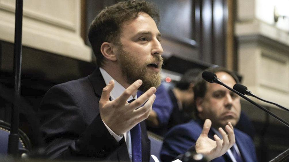 """Otermín criticó a Ameri pero manifestó la """"hipocresía política"""" con que Juntos por el Cambio se conduce en la actualidad."""