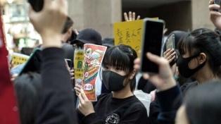 La Universidad de Hong Kong retoma las clases con fuertes medidas de seguridad