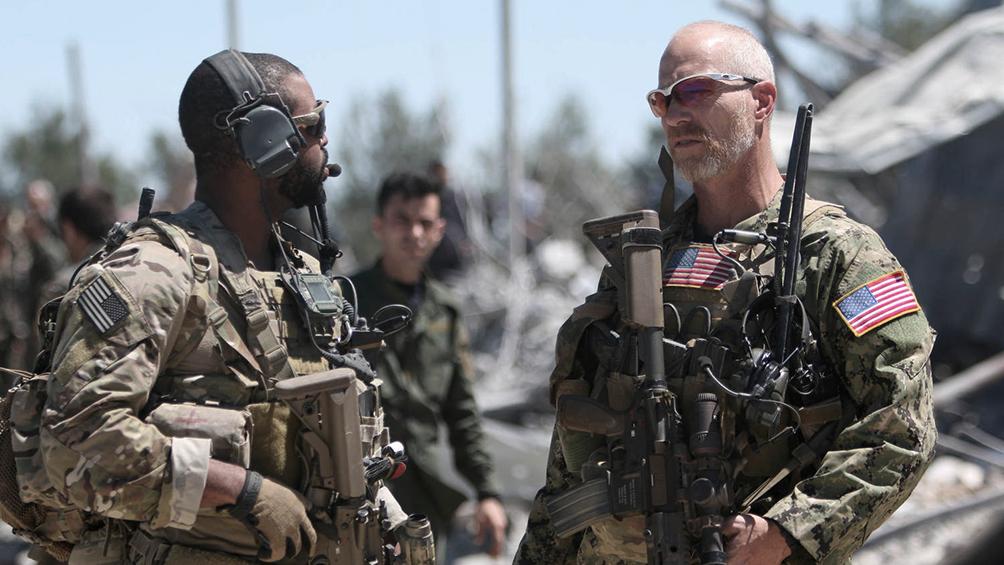 Las fuerzas de Estados Unidos se retiran de la tercera base de Irak
