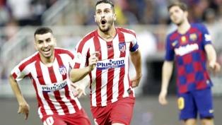 Atlético de Madrid eliminó al Barcelona en un gran partido