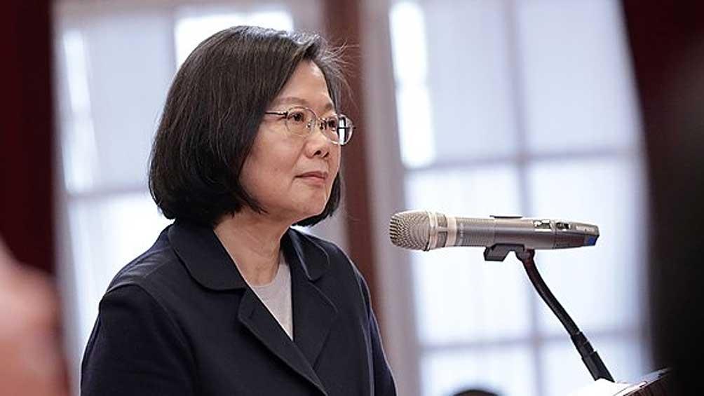 Tsai Ing-wen remarcó el deseo de distender las relaciones con Beijing