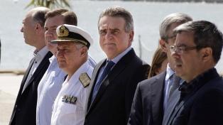 Rossi reafirmó el interés del Gobierno en esclarecer la tragedia del submarino