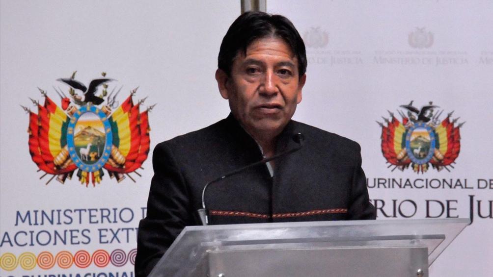 David Choquehuanca encabezó el acto de presentación