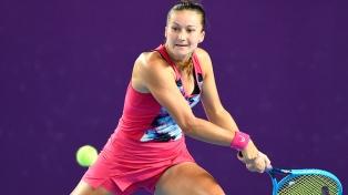 Una tenista se retiró por la contaminación del aire