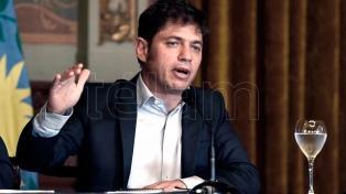 Kicillof expresó su preocupación por el crimen de Fernando en Villa Gesell