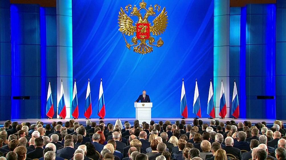 Vladimir Putin, presidente de la Federación de Rusia