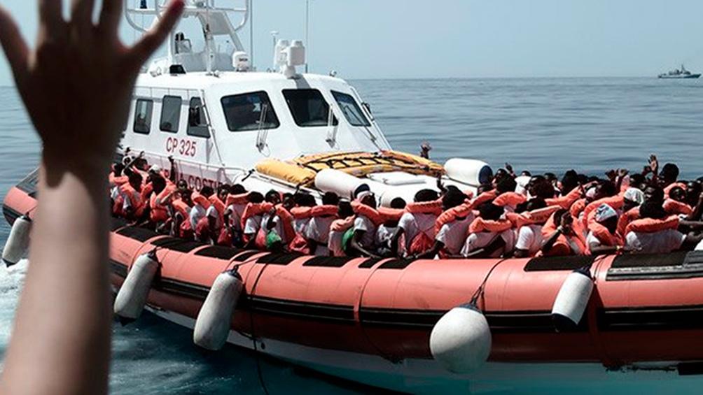 Condenaron a un capitán italiano por devolver inmigrantes rescatados a Libia