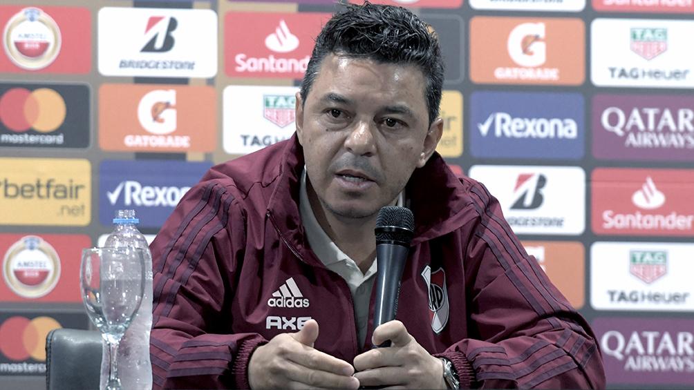 Gallardo se puso firme en River ante la posible venta de Martínez Quarta a Europa