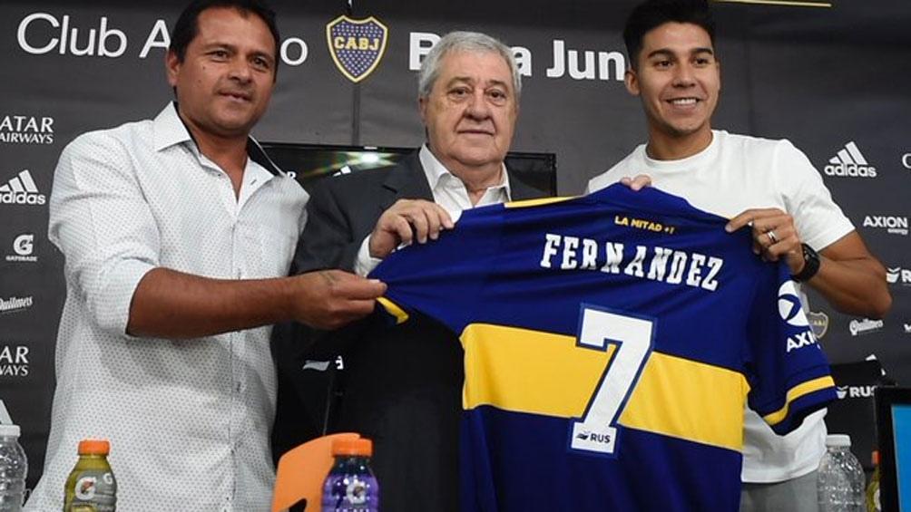 Pol Fernández se va de Boca, según confirmó el entrenador.