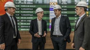 Reanudaron las obras en la nueva terminal de partidas del Aeropuerto de Ezeiza