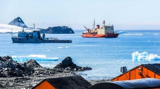 Argentina completó el abastecimiento de sus bases en la Antártida