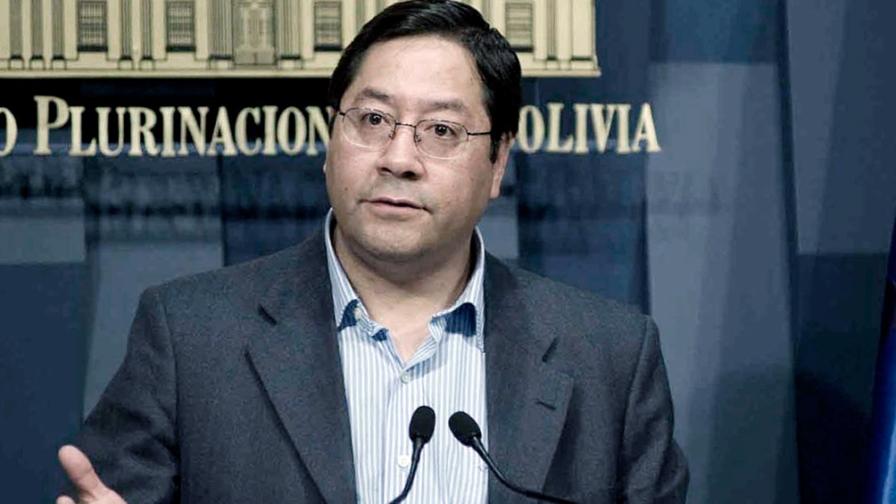 Luis Arce teme un fraude en las elecciones