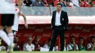 """""""Este triunfo pone a River de la mejor manera para lo que viene en la Superliga"""", avisó DT Gallardo"""