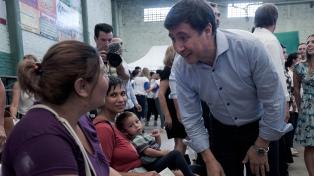 """Arroyo sostuvo que la situación es """"crítica"""" y que """"la reconstrucción pasa por el trabajo"""""""