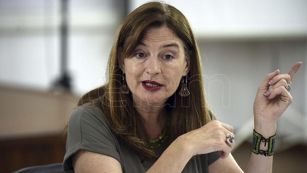 Estela Díaz, ministra de Mujeres, Políticas de Género y Diversidad Sexual de la provincia de Buenos Aires